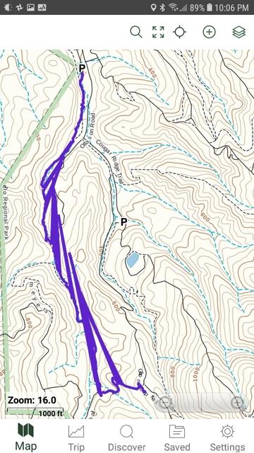 Smartphones - Big Sur Trailmap